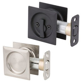 Kwikset Square Pocket Door Locks