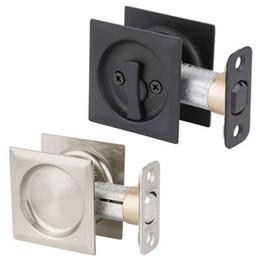 Kwikset Square Pocket Door Locks