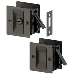 Square Pocket Door Locks