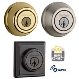Kwikset 910S Standard Deadbolts with Z-Wave