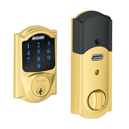 Schlage BE469 Camelot Connect Touchscreen Deadb