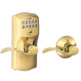 Schlage  FE575 Camelot Keypad Entry Auto-Lock