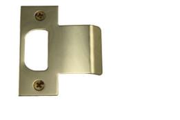 Extended Lip Strike Brass 1 3//4-inch