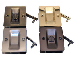Square Pocket Door Locks
