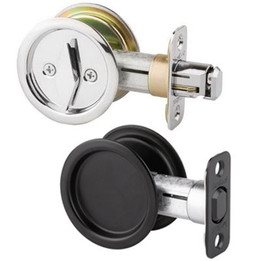 Kwikset Round Pocket Door Locks