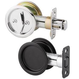Kwikset Round Pocket Door Locks
