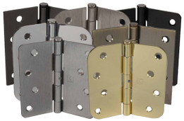 """Hager 4"""" x 4"""" Non-Removable Pin Hinges"""