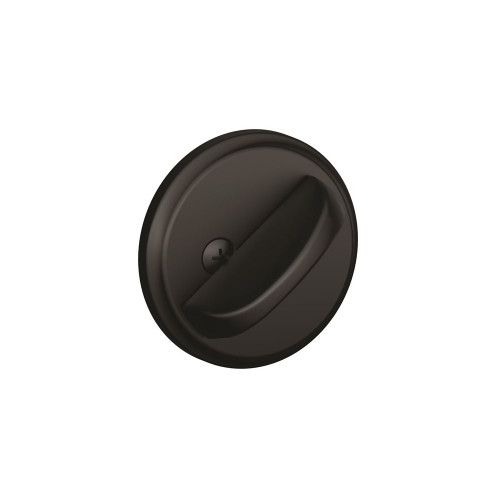 Schlage / B80 Deadbolt / One-Sided / Matte Black / B80 622