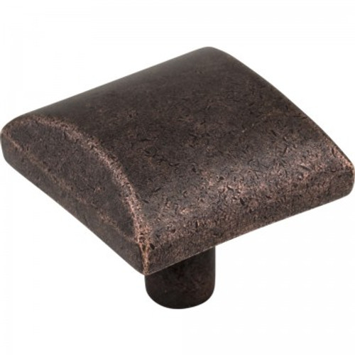 "Hardware Resources / Elements / Glendale Knob / 1-1/8"" / Distressed Oil Rubbed Bronze / 525-DMAC"