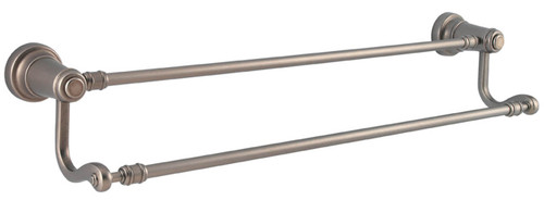 "Price Pfister-Kwikset  / Ashfield / 24"" Double Towel Bar / Rustic Pewter / 0795ADB 502"