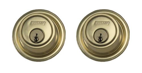 Schlage / B562 Deadbolt / Double Cylinder / Bright Brass / B562 605