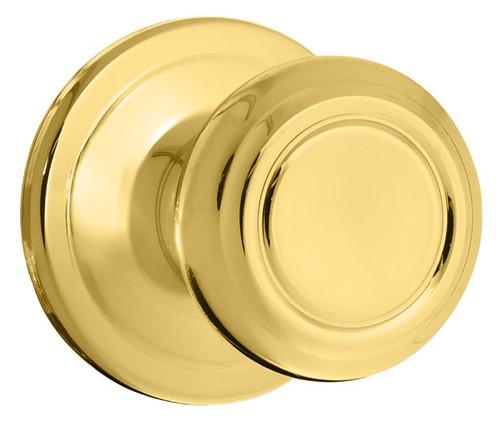 Kwikset / Cameron Knob / Passage  / Polished Brass / 720CN 3