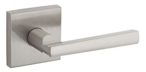 Kwikset / Montreal Lever with Square Rose / Passage / Satin Nickel / 154MRLSQT 15