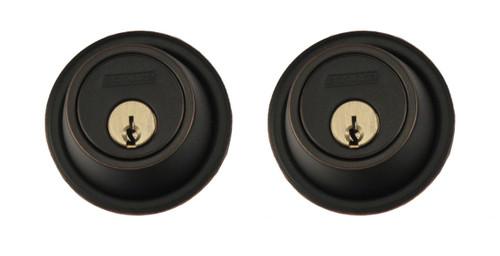 Schlage / B562 Deadbolt / Double Cylinder / Aged Bronze / B562 716