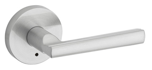 Kwikset / Montreal Lever with Round Rose / Privacy / Satin Chrome / 155MRLRDT 26D