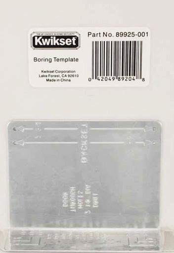 Kwikset 138 Installation Kit Replacement Part Boring