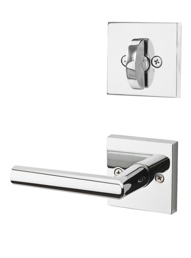 Kwikset milan lever with square rose interior pack for - How to open a kwikset interior door lock ...