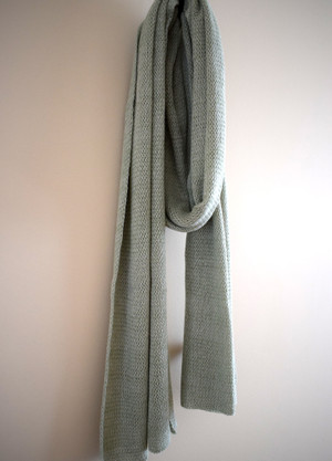 Cotton scarf - sage green