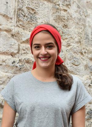 candy, worn as headscarf