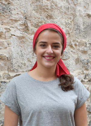 Headscarf - Cotton - Lipstick