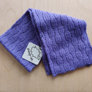 Toddler's Scarf - Lilac