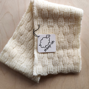 Toddler's Scarf - Cream