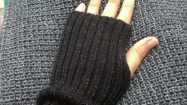 Wool Wrist Warmers - Dark Grey