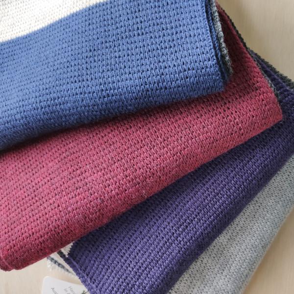 Scarf - Merino Wool - Block Colour