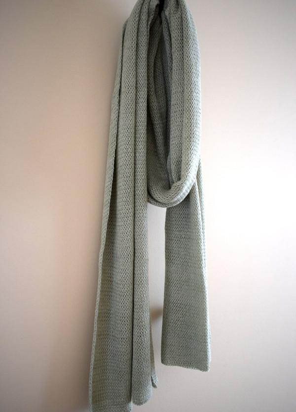 Cotton scarf - sage green