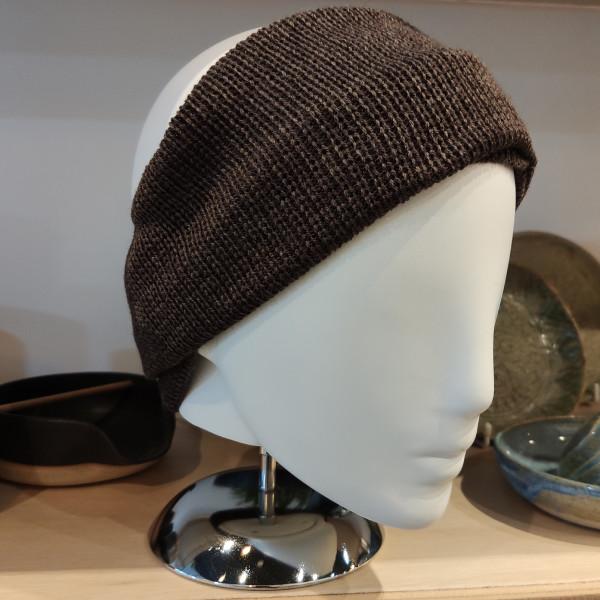 Ash brown, worn as a headband