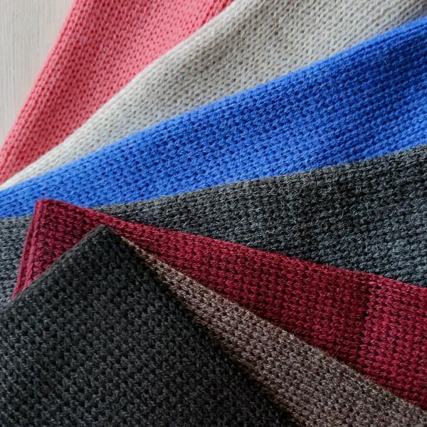 Rouge, Linen, Cornflower Blue, Graphite, Wine, Ash Brown, Black