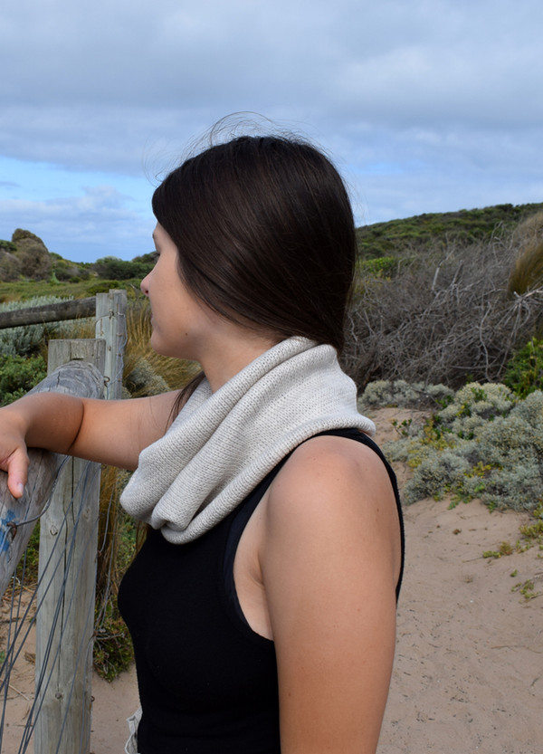 Single Loop Scarf - Classic Lurex