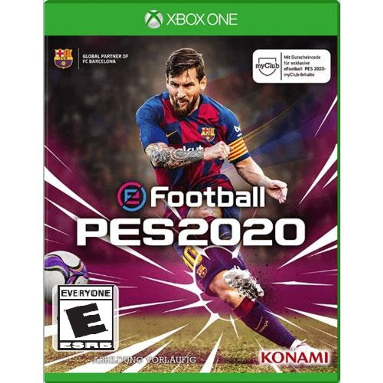 Xbox One 2020 Games.Efootball Pro Evolution Soccer 2020 Xbox One