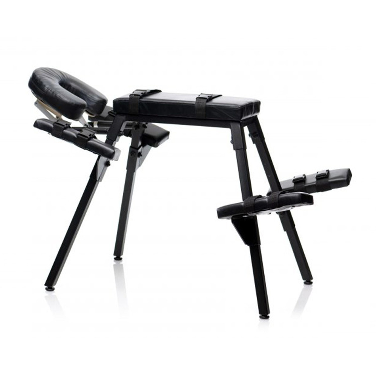 Erotic furniture with restraints