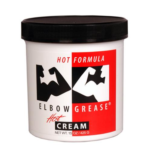 Elbow Grease Hot Cream 15 oz Jar