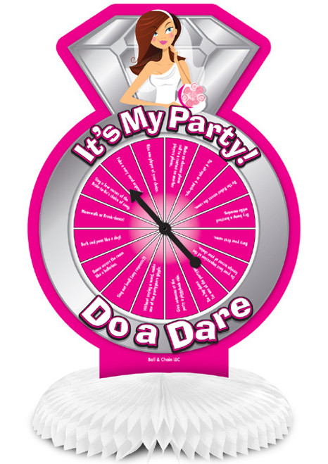 Bride To Be Collection Do a Dare Party Game Centerpiece