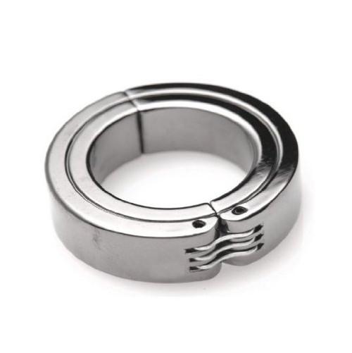 Master Series Locking Hinged CBT Penis Ring Small