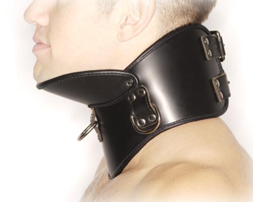Strict Leather BDSM Posture Collar Small/Medium