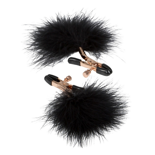 Entice Accessories Feather Nipplettes Nipple Clamps