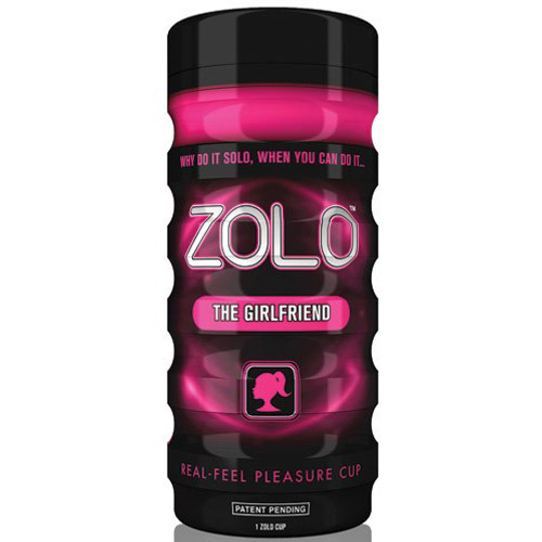 Buy the Zolo Cup Fuchsia Pink The Girl Friend Real Feel Pleasure Cup Stroker Male Masturbator