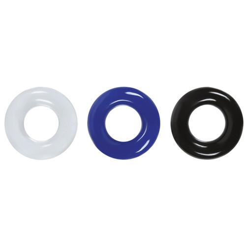 Buy the Renegade Stamina Rings Multi-Color Penis Erection Enhancing Cockrings - NS Novelties