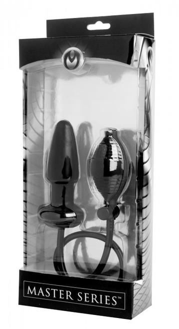 Master Series Expand Inflatable Anal Plug Black
