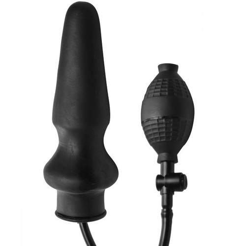 Master Series Expand XL Inflatable Anal Plug Black