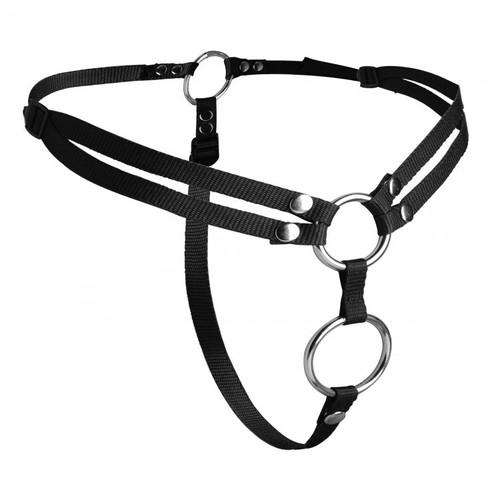 Strap U Unity Double Penetration Strap-On Harness System