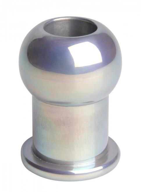 Master Series Hollow Aluminum Anal Plug Medium/Large