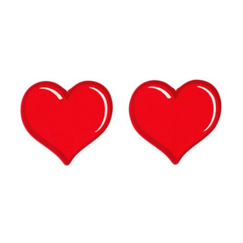 Buy the Edible Cinnamon Hearts Body nipple Pasties - Kheper Games