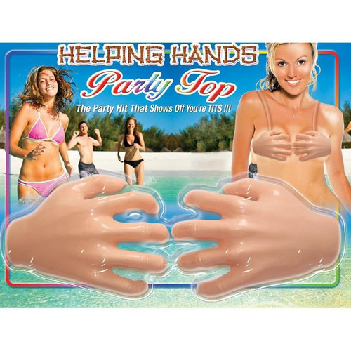 HOTT Products Helping Hands Party Bra Top available at Dallas Novelty HP2343