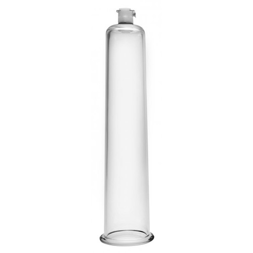Buy the Size Matters 1.75 inch x 9 inch Vacuum Pumping Penis Enlargement Cylinder with AirLock Release Valve - XR Brands