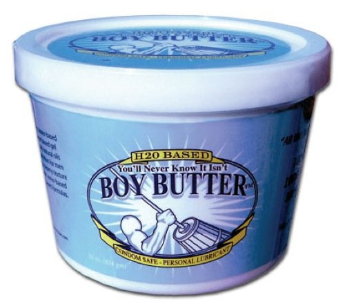 Buy the Boy Butter H20 Water-Based Cream Lubricant 16 oz Tub