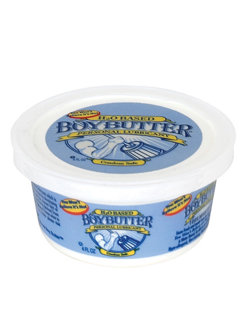 Buy the Boy Butter H20 Water-Based Lubricant 4 oz Tub